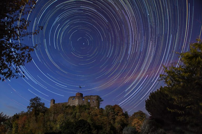 Sternstrichspuren (Star Trails)