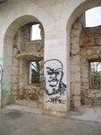 Neue Kunst (?) auf alten Mauern