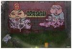 Graffiti und andere Kunstwerke