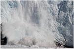 Kalben des Gletschers