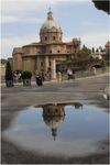 Spiegelbild in Rom