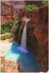 Wasserfall im Havasupai Canyon