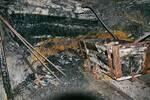 Lagerstreckenvortrieb mit Blick auf das Kohlflöz