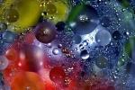 Bunte Ballonblasen