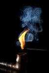 Feuer Rauch Tabakpfeife 1