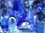 Blaue Inventur