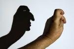 Schattenspiel 'Kopf'