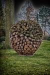 Holzkugel