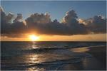Sonnenaufgang in der Karibik