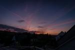 Sonnenuntergang über Bredenbeck