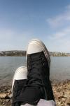 Füße mit Aussicht