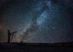 Astrofotografie Milchstraße Sommerdreieck
