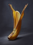 Bananen Reißverschluss
