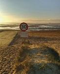 Morgens um 6 Uhr am Strand
