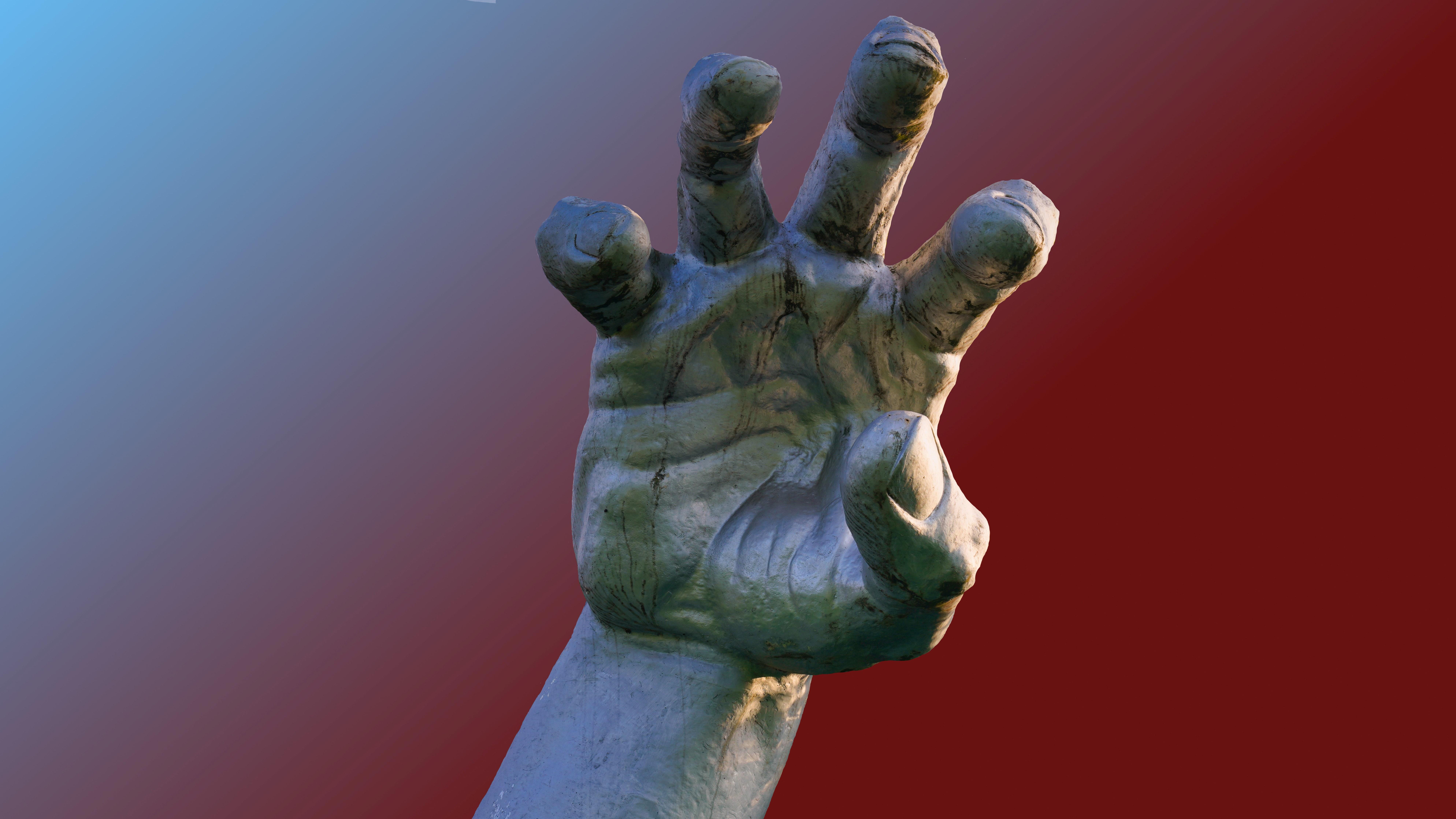 Threatening Hand
